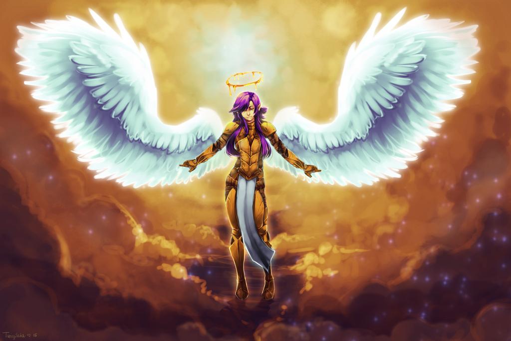 The Heavenly Warrior by Twigileia