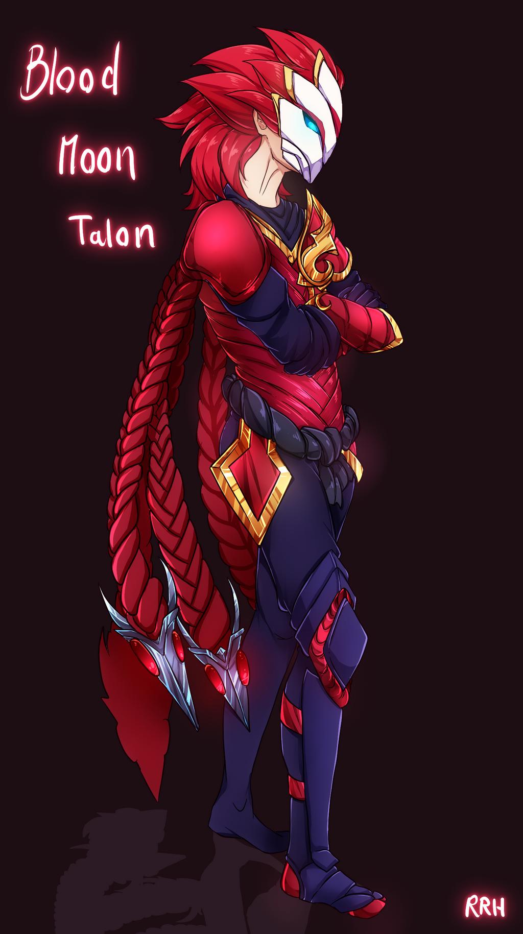 Blood Moon Talon by Twigileia