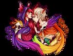 Xayah and Rakan [League of Legends]