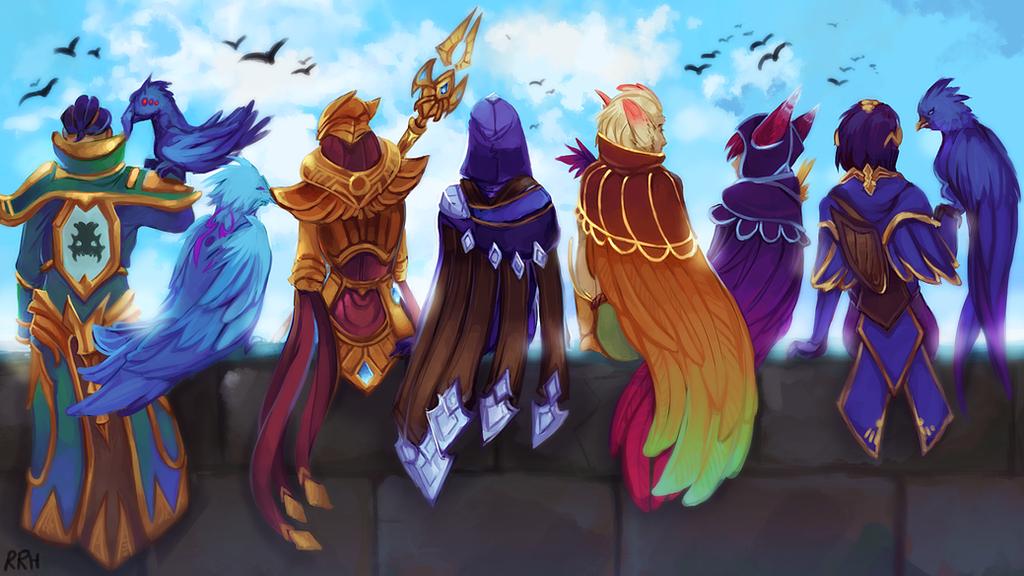 League of Legends - Birds by Twigileia