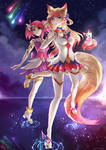 Star Guardians Lux and Ahri