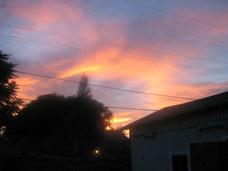 old sunset.