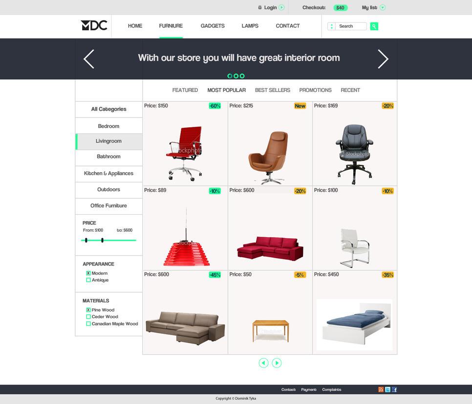 Layout-Furniture Store By Artdigitalazax On DeviantArt