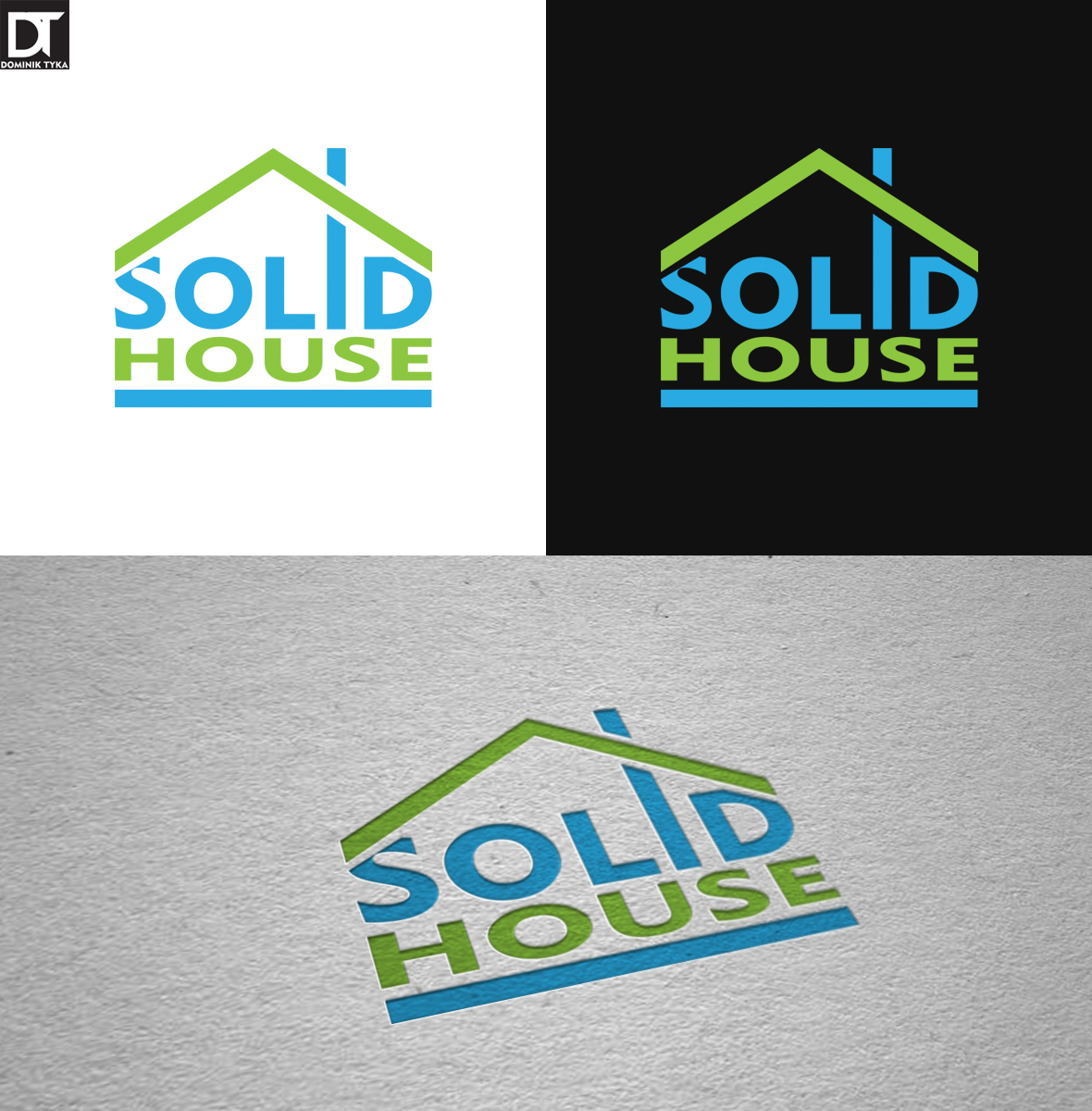 Logo- Solid House by artdigitalazax