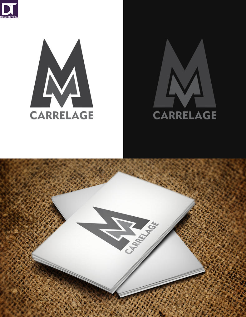 Logo mm carrelage by artdigitalazax on deviantart for Carrelage 3mm