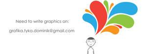 Need to write graphics on by artdigitalazax