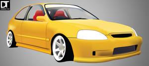 Graphic - Honda Civic Type R