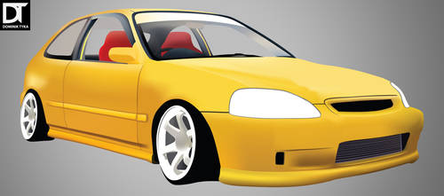 Graphic - Honda Civic Type R by artdigitalazax