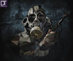 Low Poly - Stalker by artdigitalazax