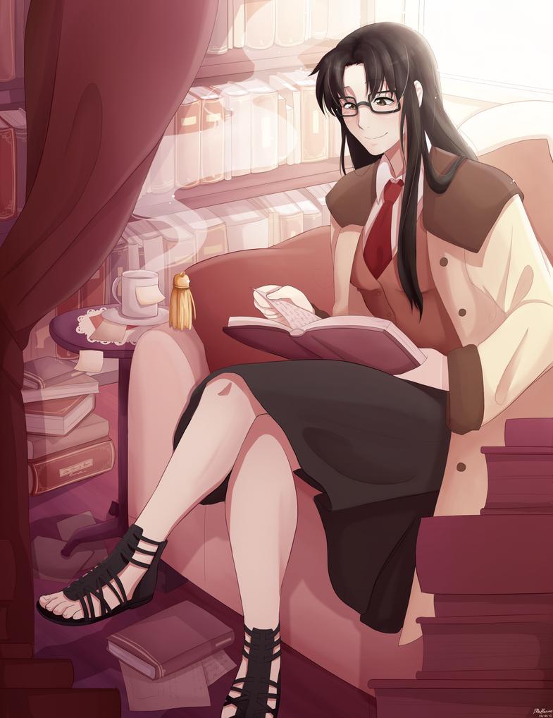 Yomiko Readman by Kiaraz