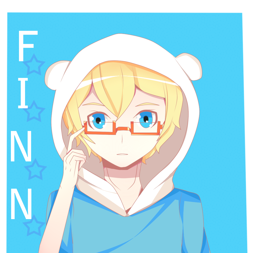 Adventure Time-Finn by JiLL29