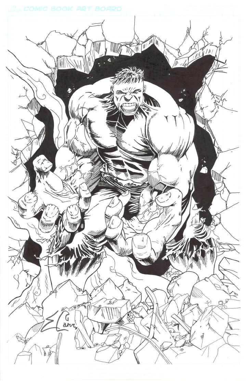 Hulk by sparkythex