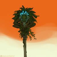 sadida god by Next--LVL