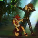 Alyna and Skai
