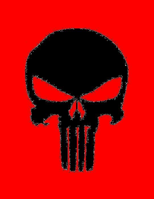 Punisher Skull-Red by picklez07 on DeviantArt