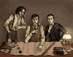 A Case for Three by OorusevenFiibaa7777