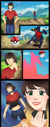 COMIC CMSN- What kind of pokeball is this? by Pitaun