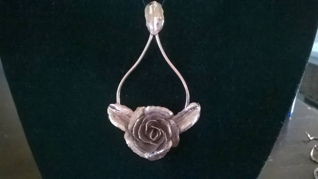 Forged Copper rose