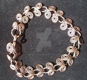 Coil 18 G Bracelet 2