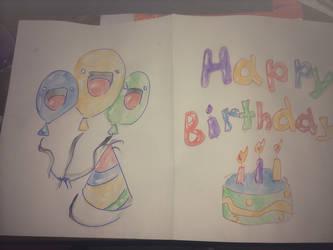 Birthday by awdrgy818