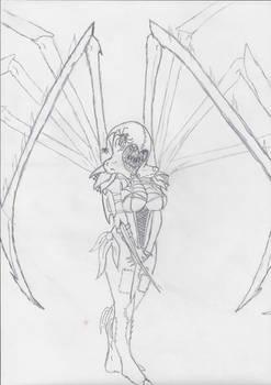 Mercury the Arachnid Assassin