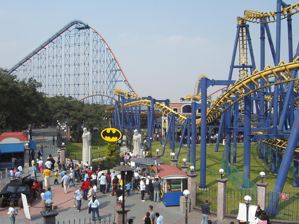 Six Flags Mexico by coolvamp007 on DeviantArt rlOFXavD
