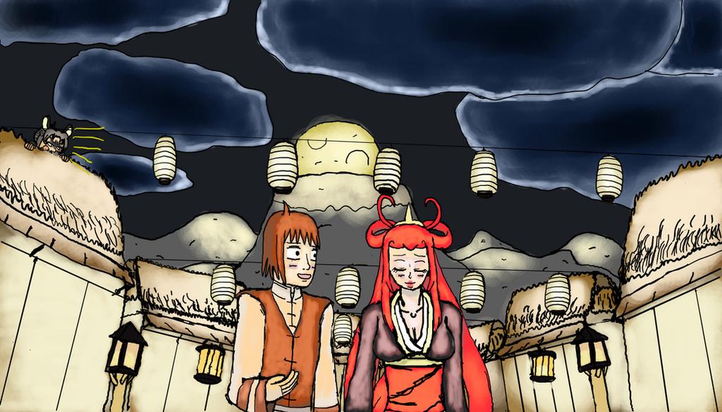 Pokimono- Takumi and Manami by DuskNinjaKenji