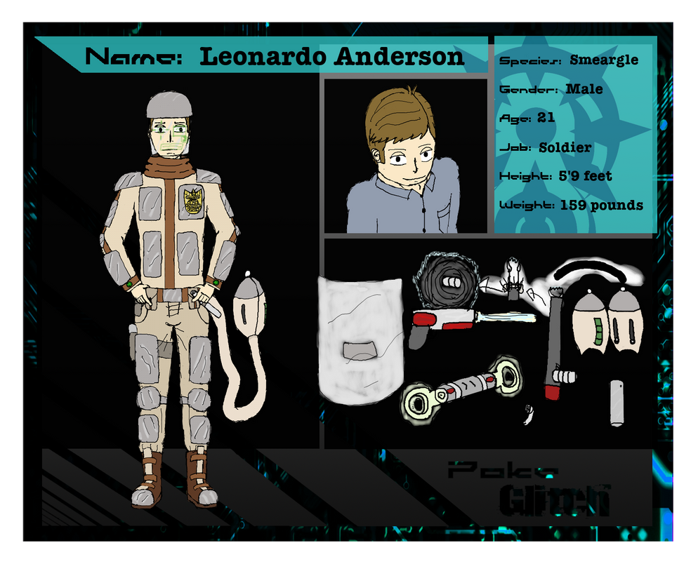 PG Application: Leonardo Anderson (Update) by DuskNinjaKenji