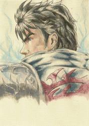 Ken's Rage Watercolor by Fortis-Ferus