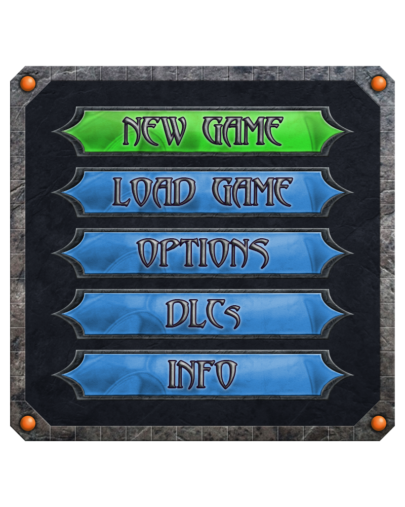 Game Menu 'RPG' by NannocDesign