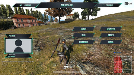 PUBG Overlay and Panels