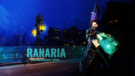 Ranaria (Monk / World of Warcraft / Wallpaper)