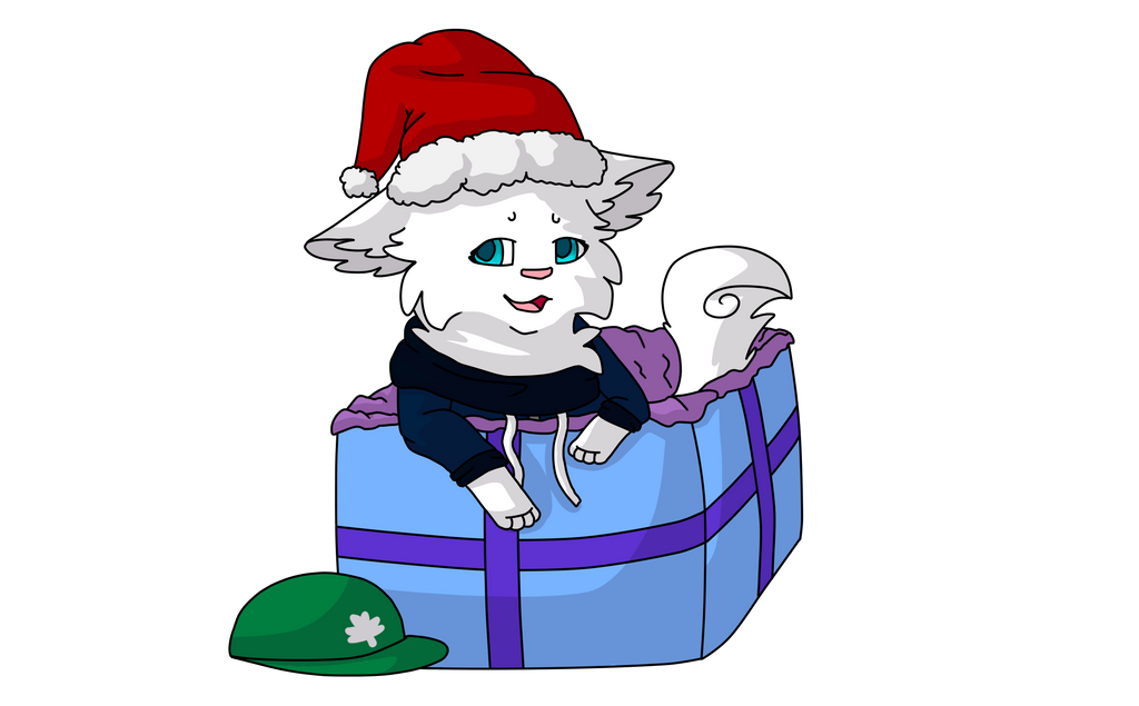 A snowy present [Contest Entry] by RandomPieXx