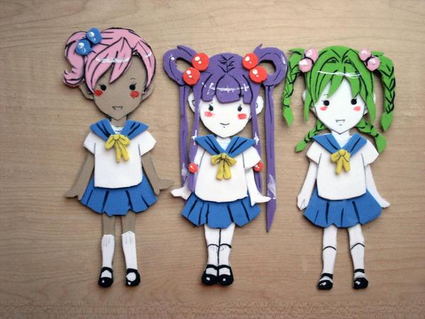 elementary raid foam dolls by Reenigrl