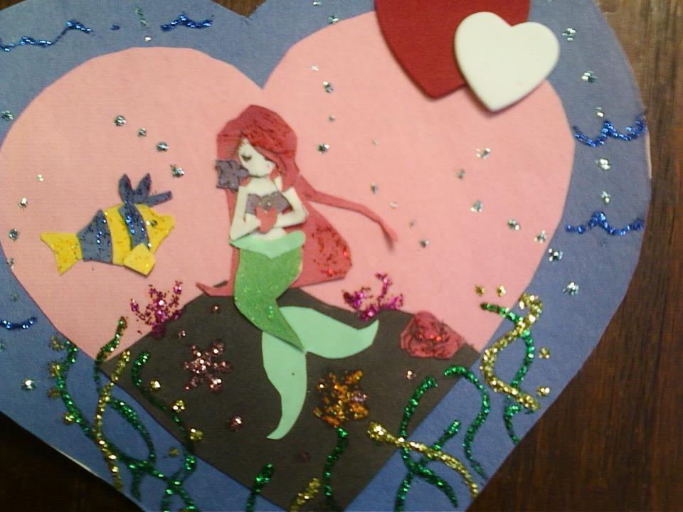 Ariel Valentines by Reenigrl