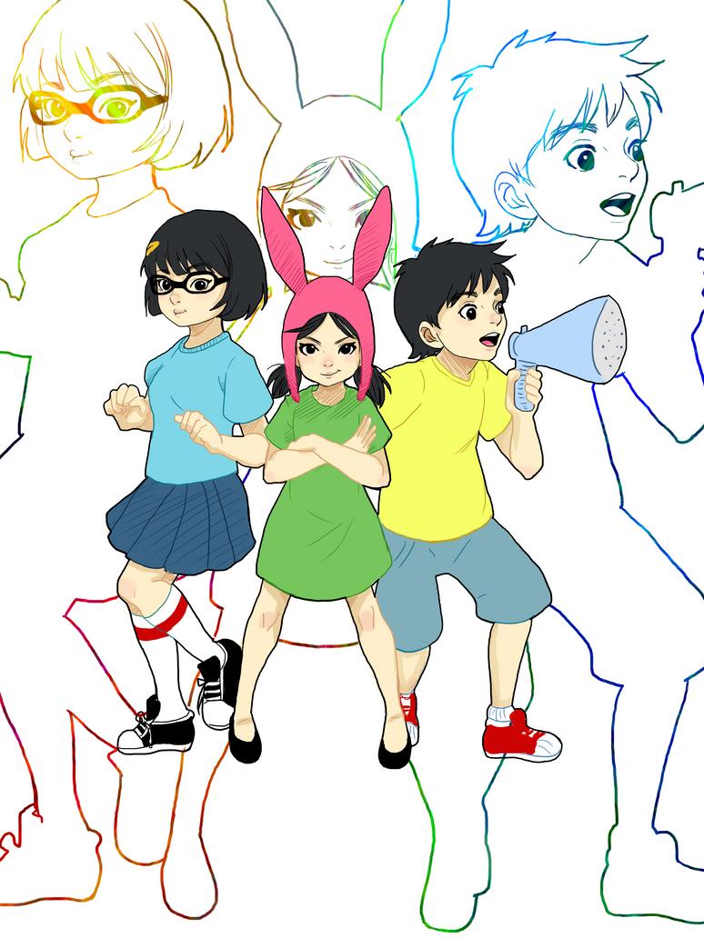 Belcher Kids by Reenigrl