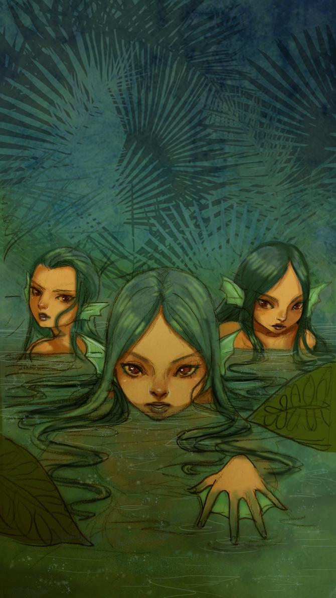 Jungle Sirens by Reenigrl