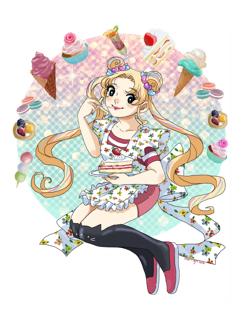 Usagi Sweets by Reenigrl