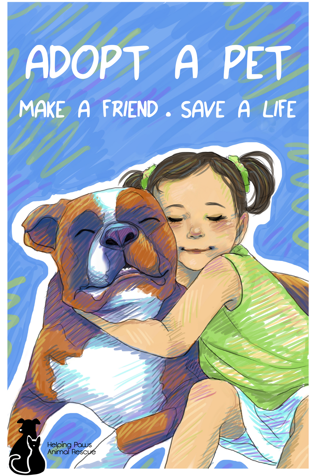 ... Adopt A Pet Poster By Reenigrl  Pet Poster