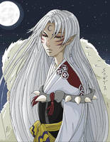 sesshomaru by Reenigrl