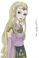 Zelda 2 by Reenigrl