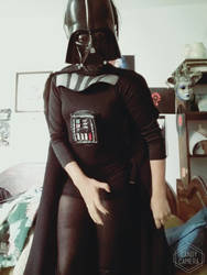 DARTH VADER Female Version Cosplay - STAR WARS by BloodySophy