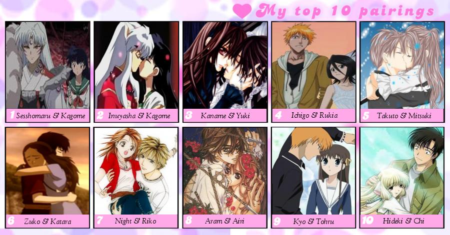 Fun Couple Meme : My favorite anime manga couples meme by isobel theroux on deviantart