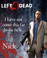 Left 4 Dead-Nick by Isobel-Theroux