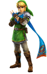 Link-Hyrule Warriors PNG 1