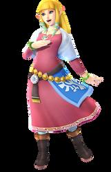 Princess Zelda-Hyrule Warriors PNG 1