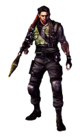 Chris Redfield-RE5 S.T.A.R.S. PNG
