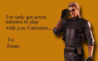 Tacky RE Valentines-Albert Wesker 1