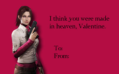 Tacky RE Valentines-Claire Redfield