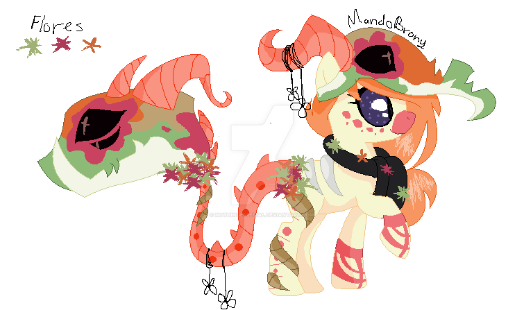 Flora Carnival Ponies .:NEW CLOSED SPECIE:. by NothingEspecial